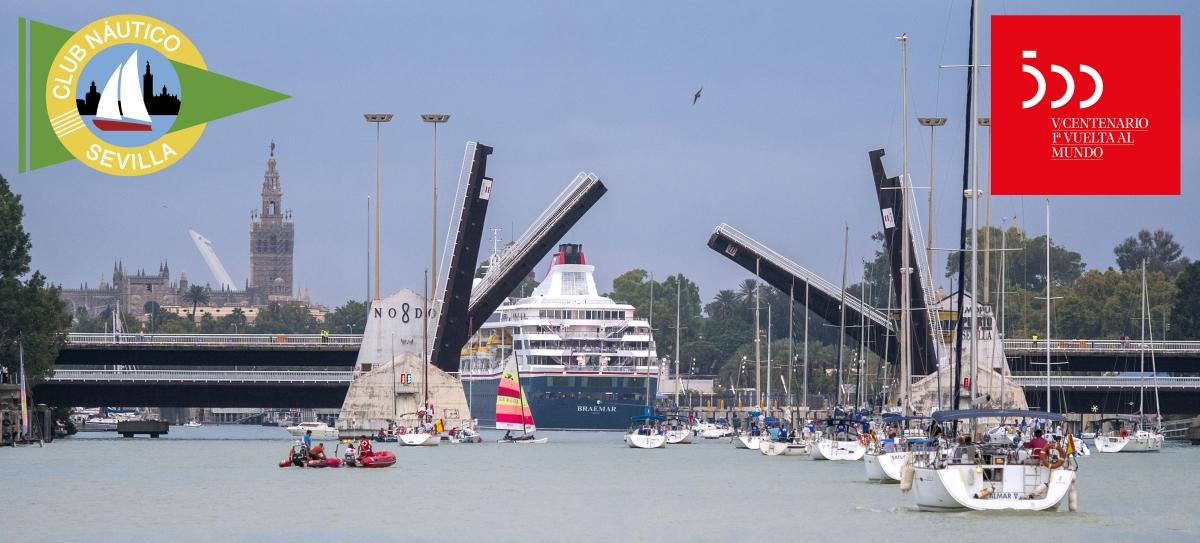El Ascenso A Vela Del Guadalquivir, En Los Actos Del 500 Aniversario De La Primera Circunnavegación De La Tierra
