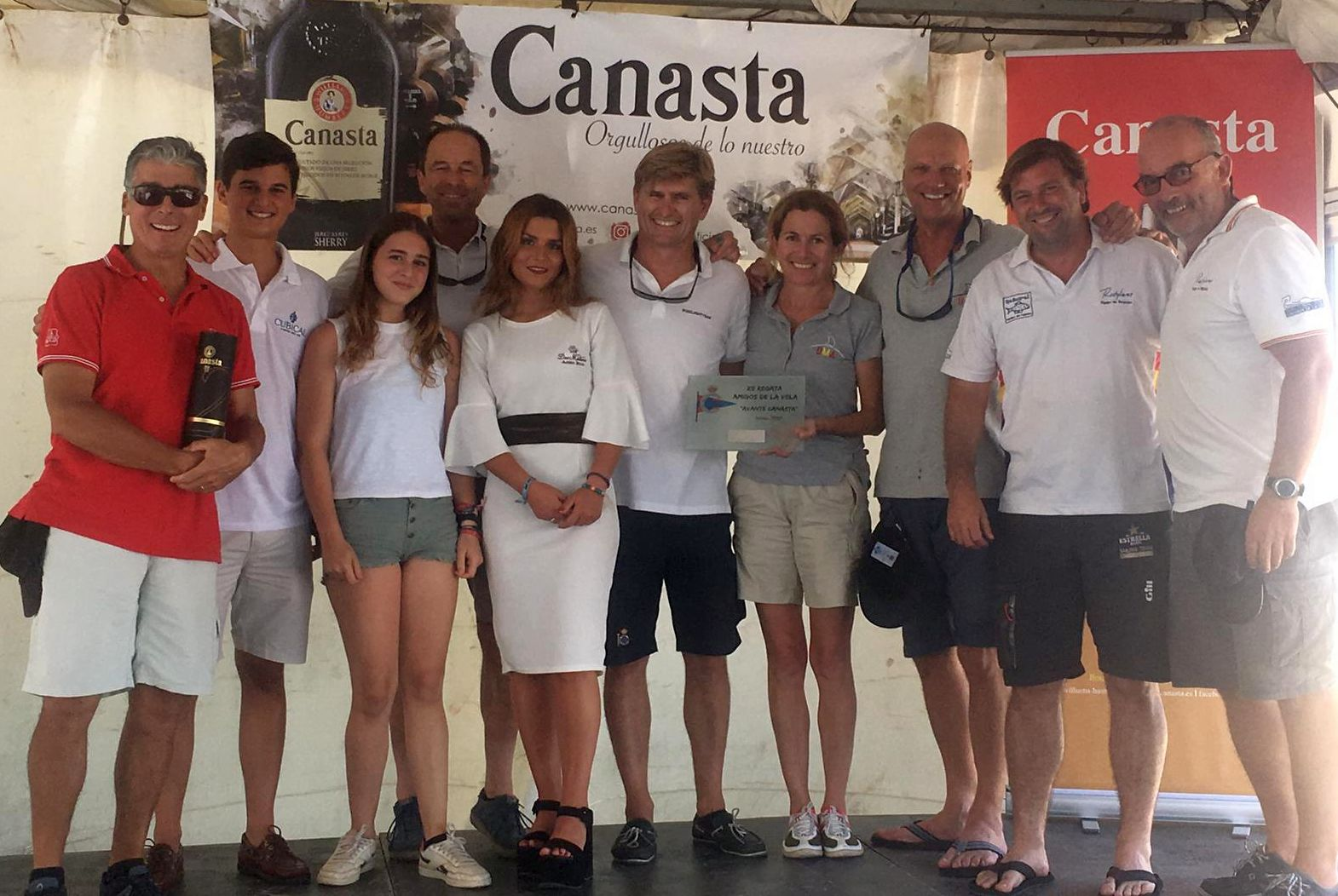 XII Regata Amigos De La Vela, Avante Canasta