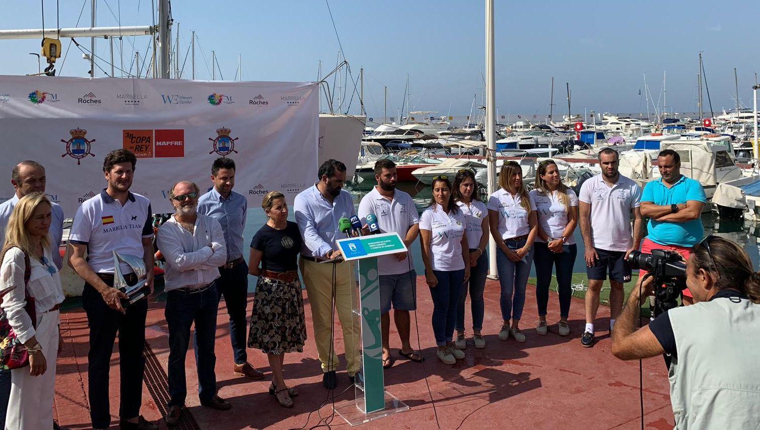 Marbella Presenta Dos Barcos Para La 38º Copa Del Rey Mapfre