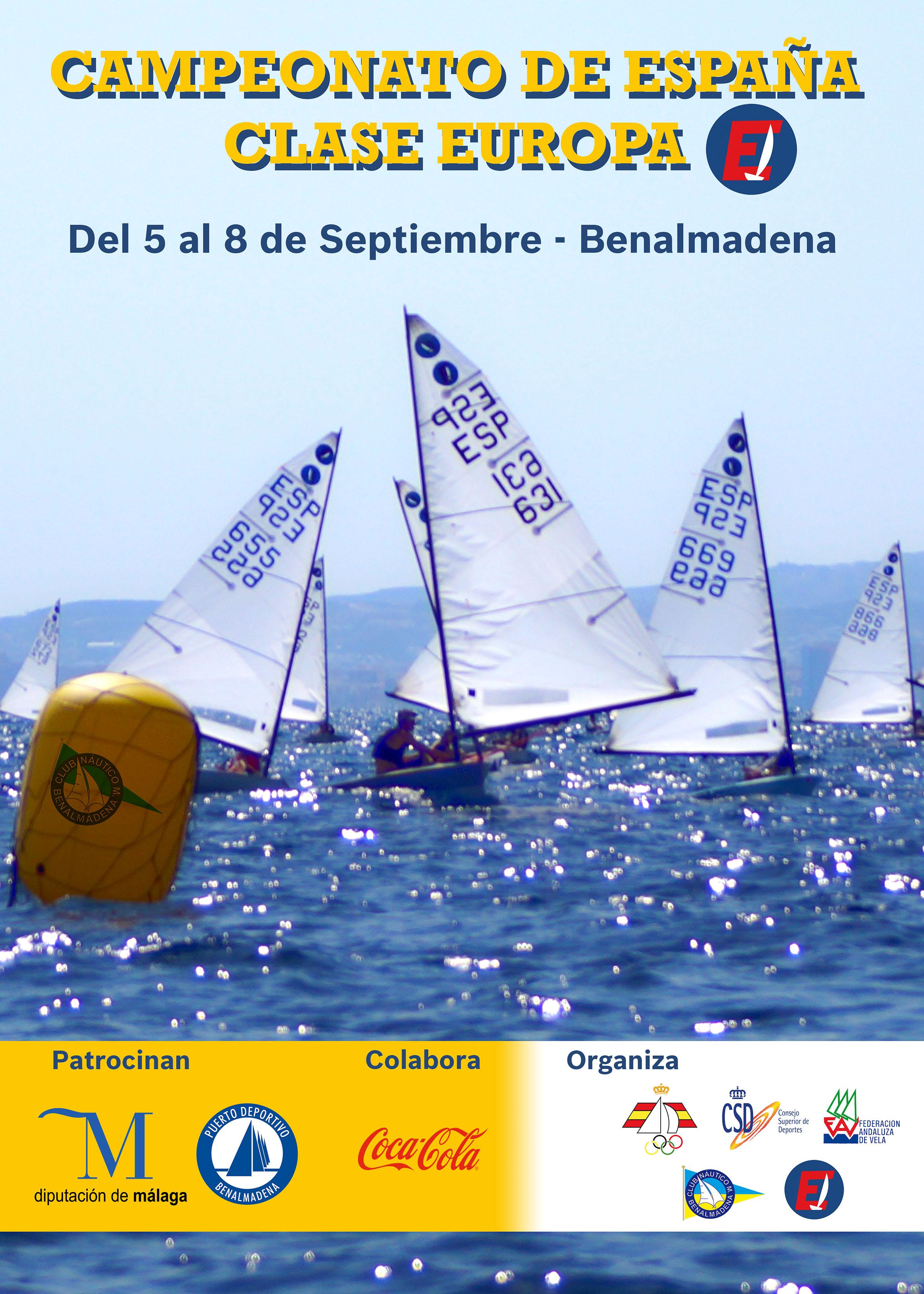 Campeonato De España De La Clase Internacional Europa.