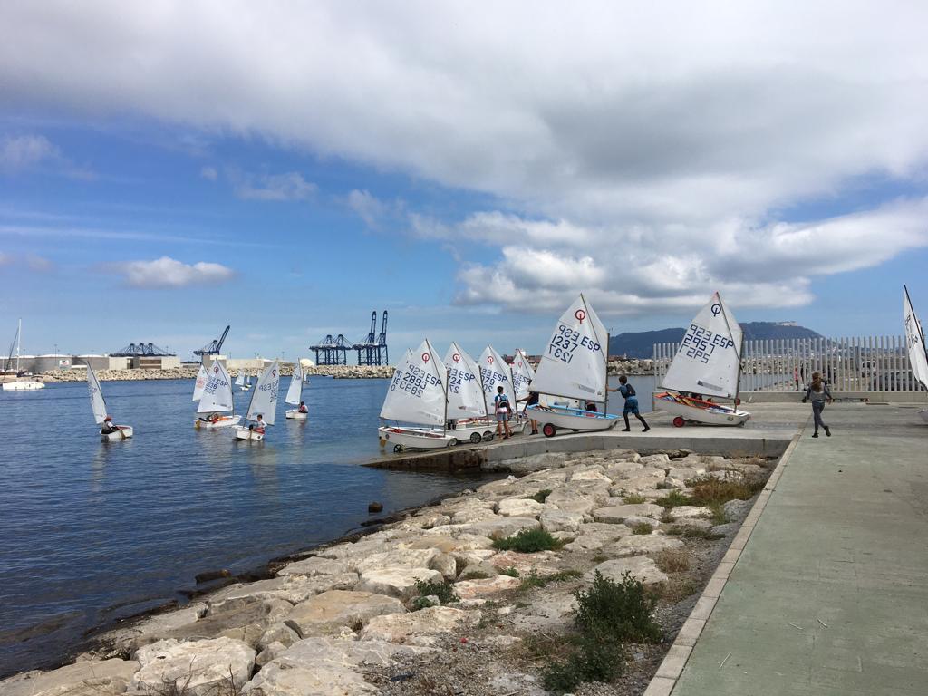 Campeonato Provincial De Optimist Para Málaga Y Campo De Gibraltar.