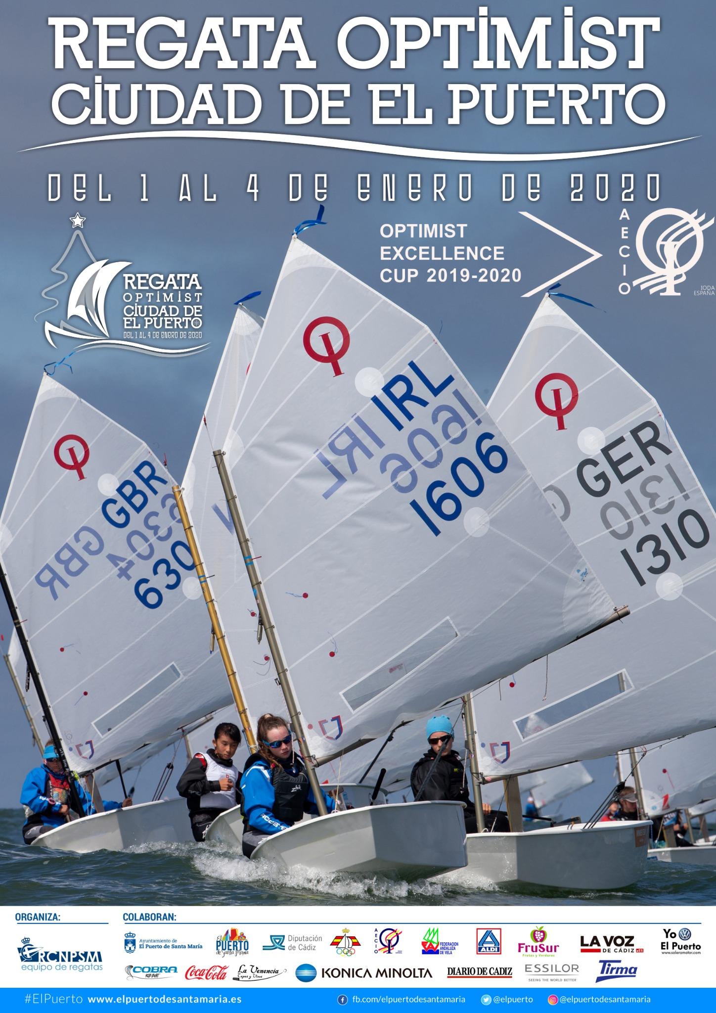 VI Regata Ciudad Del Puerto, Trofeo Excellence Cup De Optimist