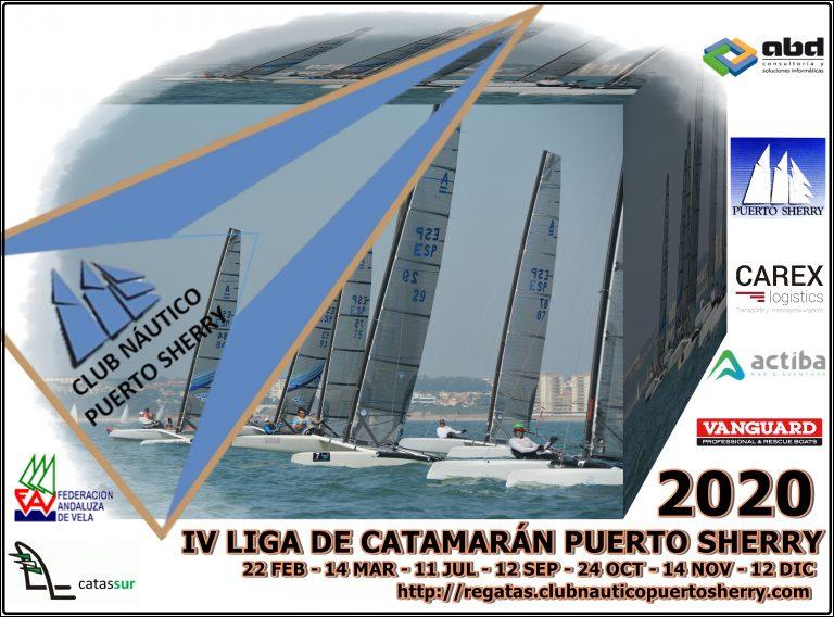 Ligas De Catamarán Y Windsurf Del CN Puerto Sherry