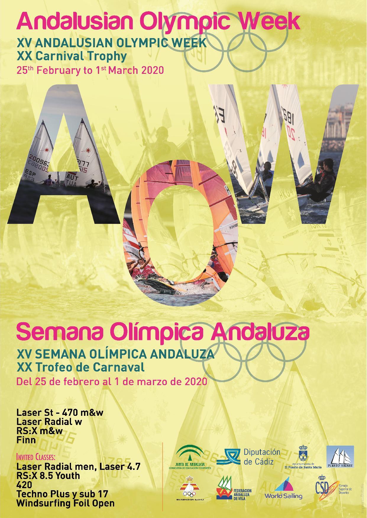 XV Semana Olímpica Andaluza, XX Trofeo De Carnaval