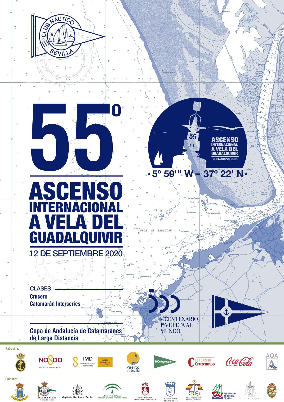 SUSPENDIDO El 55º Ascenso Internacional A Vela Del Río Guadalquivir