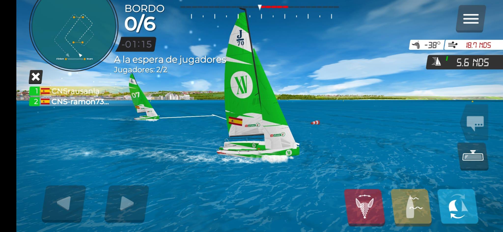 Campeonato Del Mundo Virtual ESailing