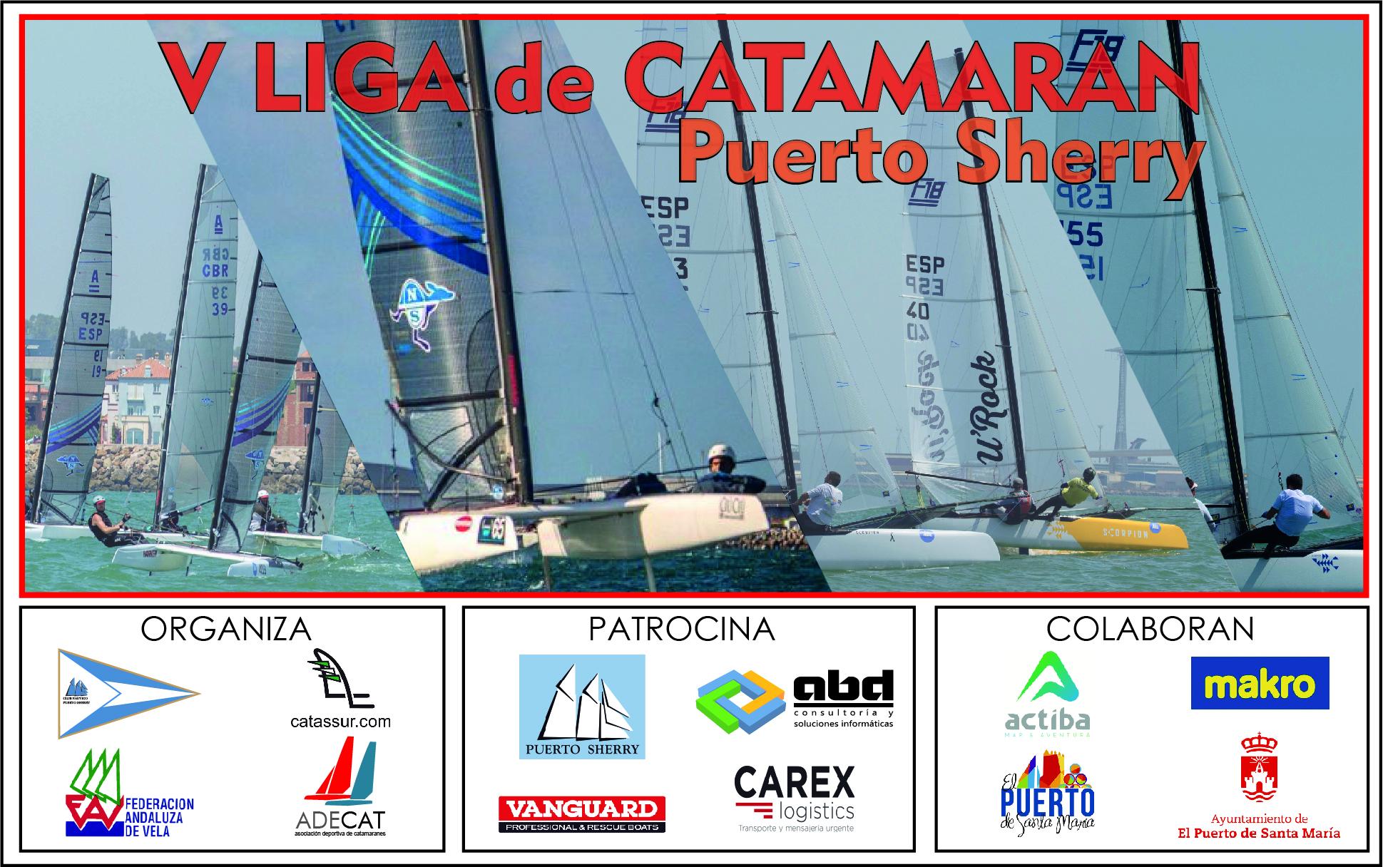 Liga De Catamarán De Puerto Sherry
