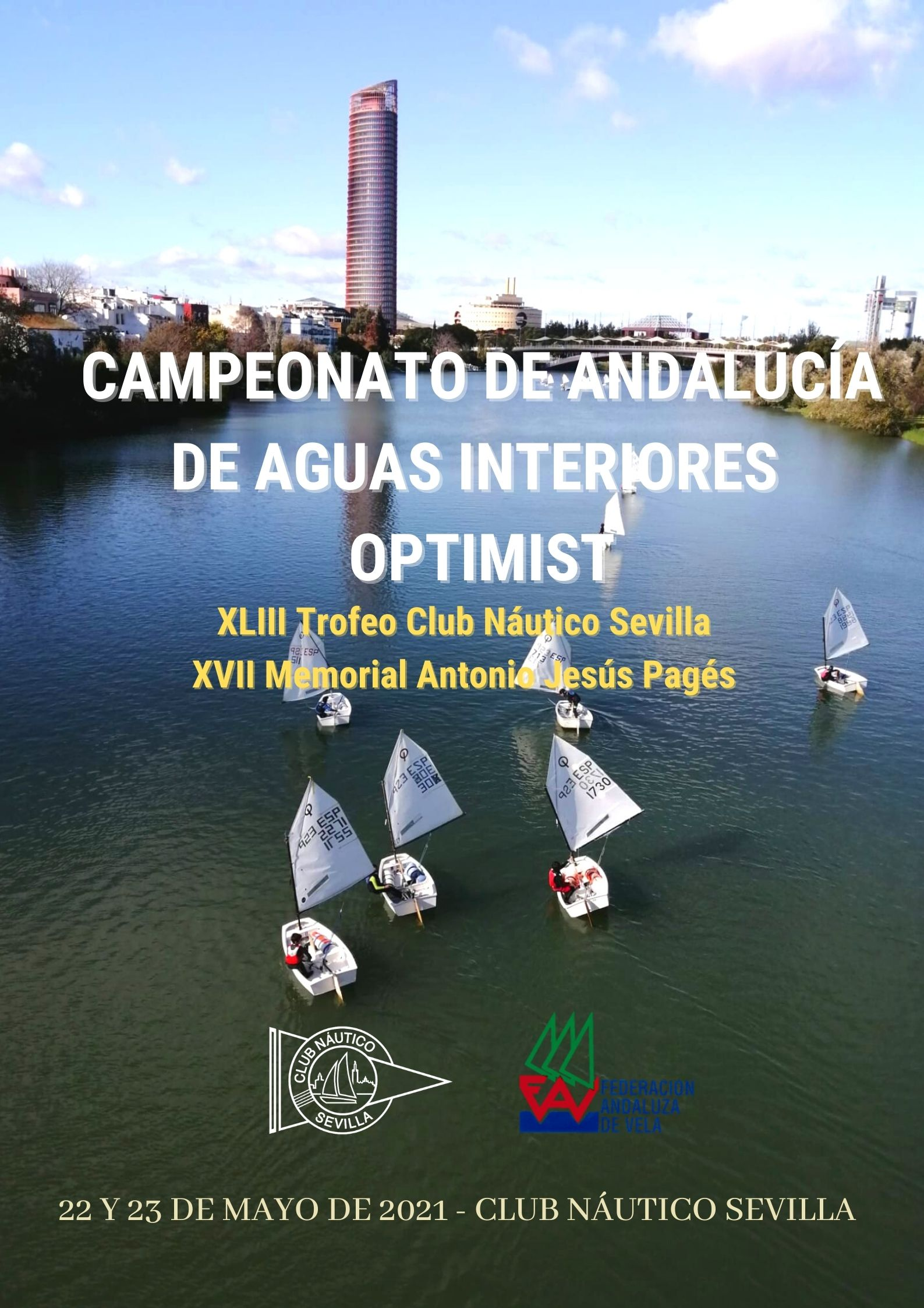 Campeonato De Andalucía De Aguas Interiores Para La Clase Optimist