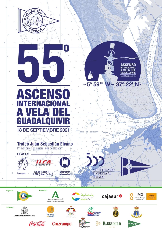 55 Ascenso Internacional A Vela Del Río Guadalquivir